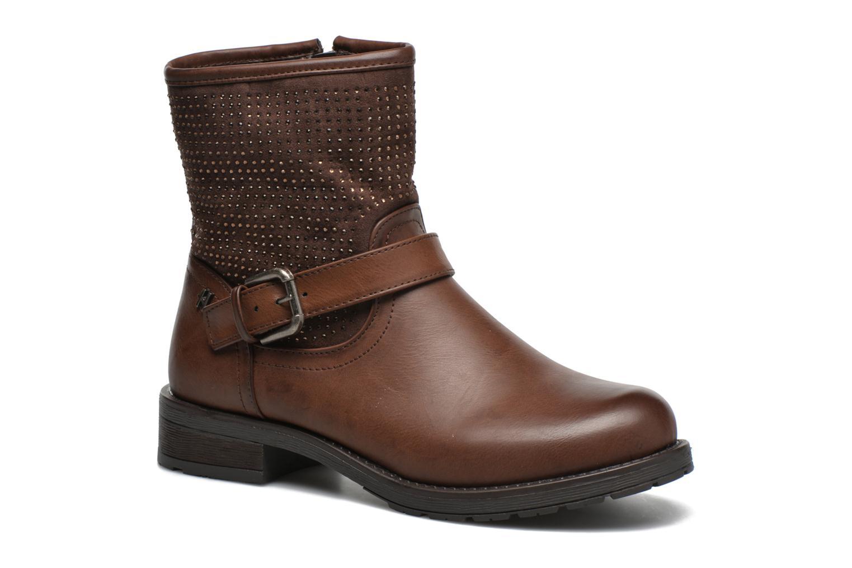 Bottines et boots Refresh Elisa-61425 Marron vue détail/paire