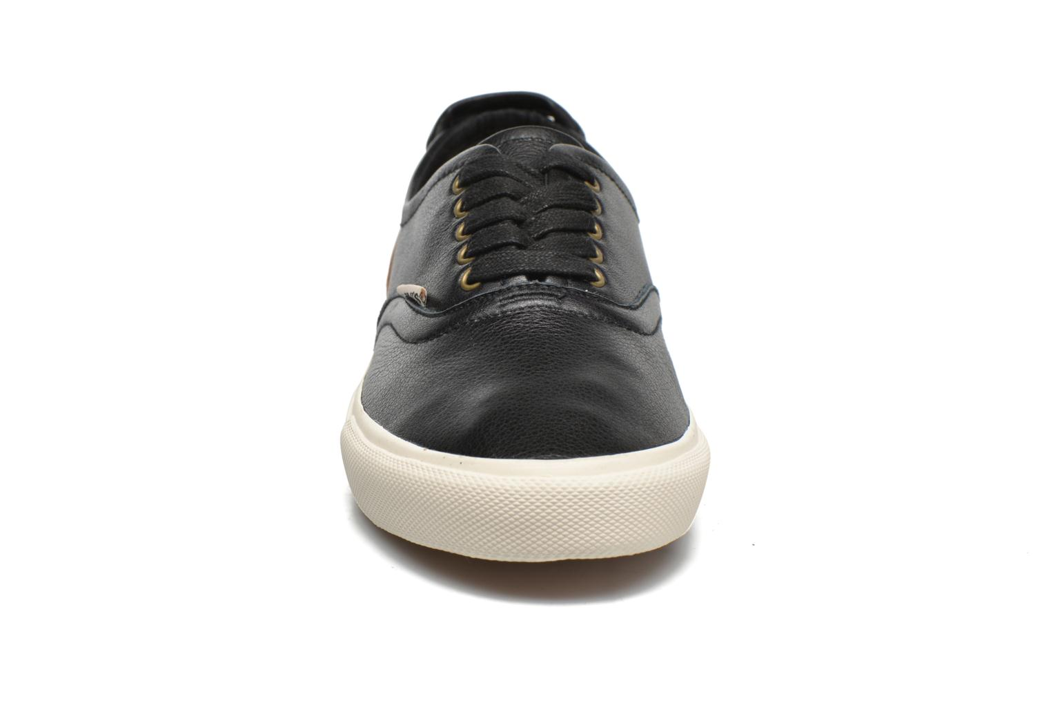 White Tab Sneaker Low Regular Black