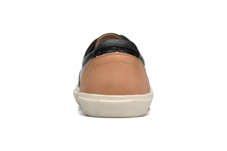 Baskets Levi's White Tab Sneaker Low Noir vue droite