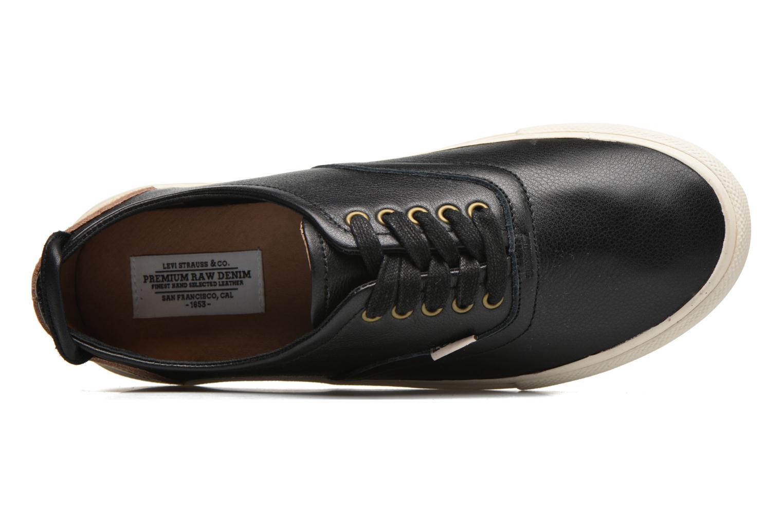 White Tab Sneaker Low Regular Black
