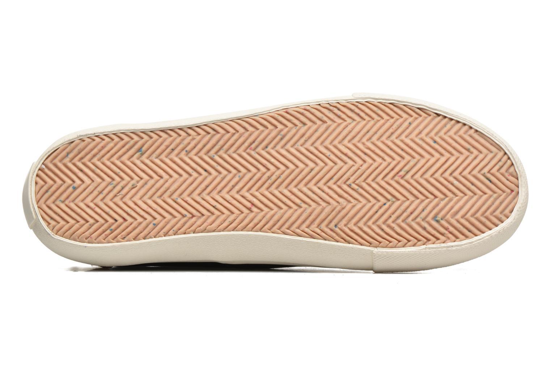 Baskets Levi's White Tab Sneaker Low Noir vue haut