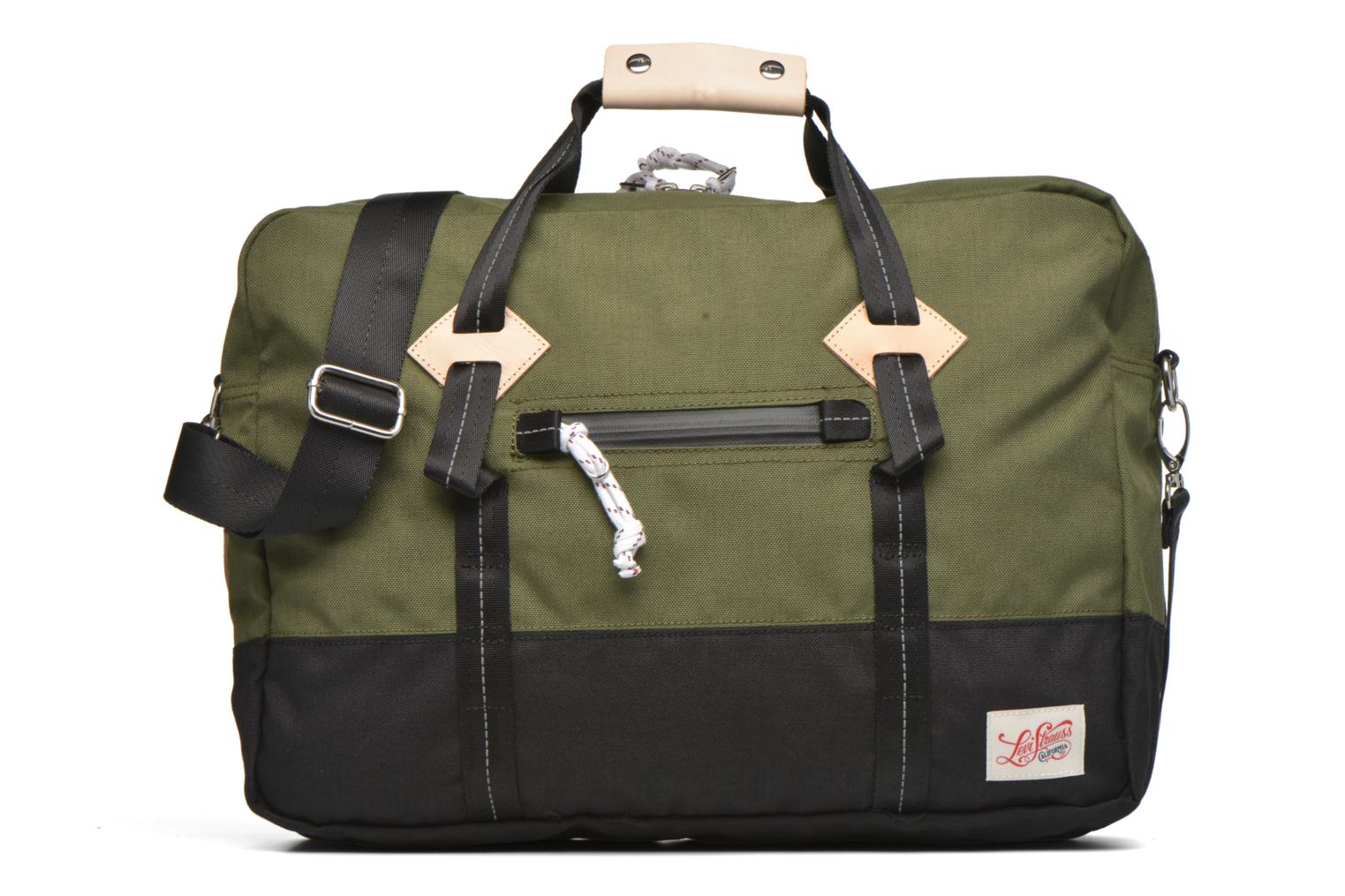 Colorblock Messenger bag Dull green