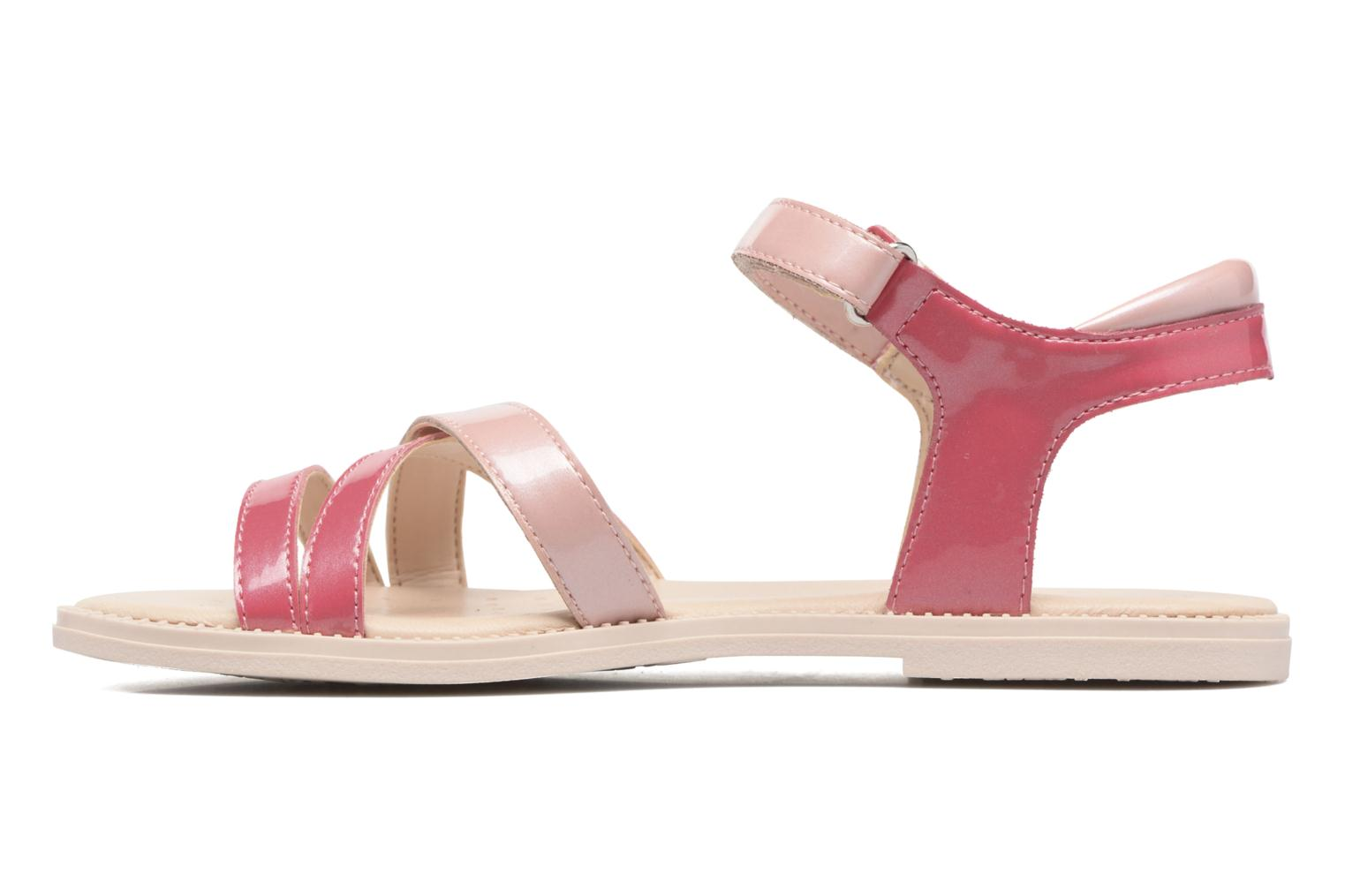 Sandals Geox J S.Karly G.J5235D Pink front view