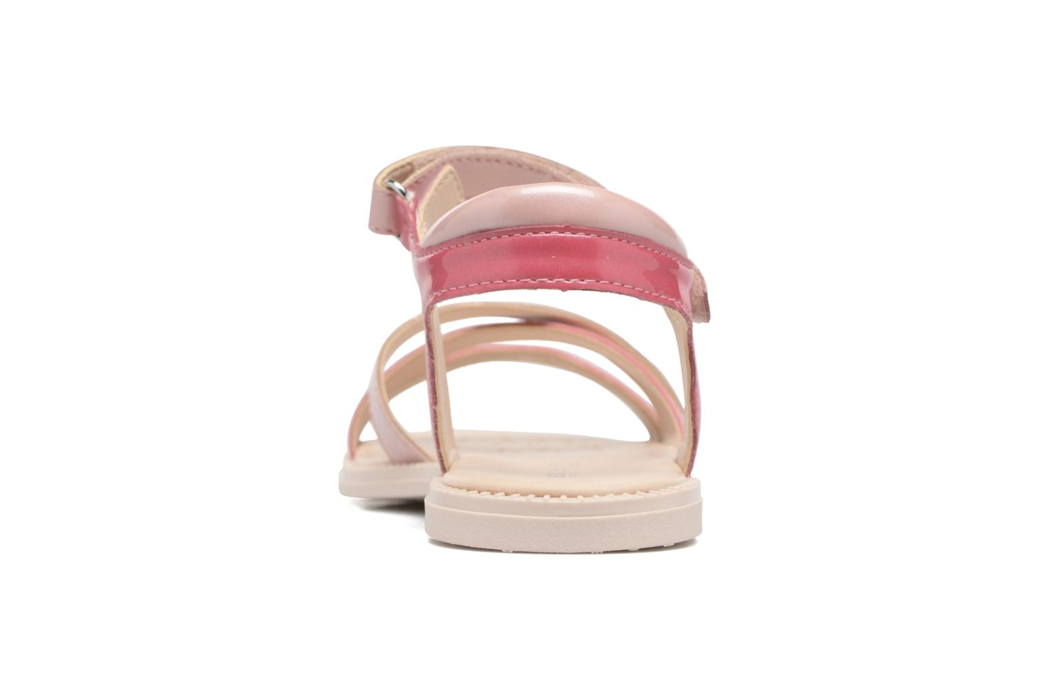 Sandals Geox J S.Karly G.J5235D Pink view from the right