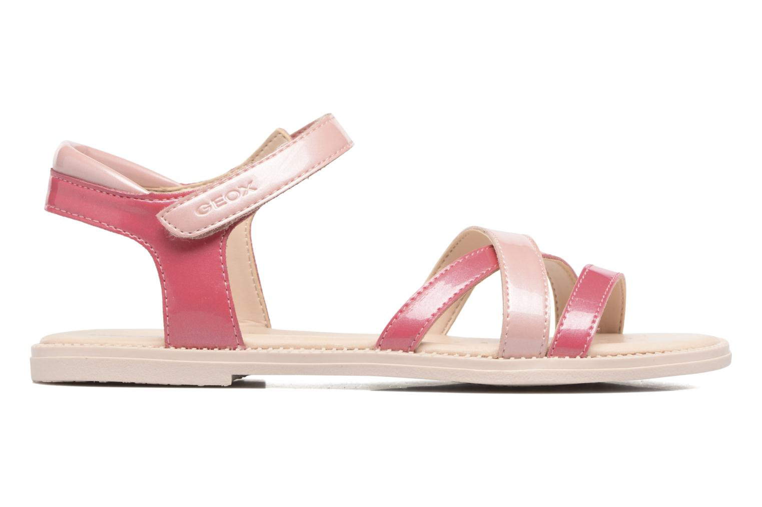 Sandals Geox J S.Karly G.J5235D Pink back view