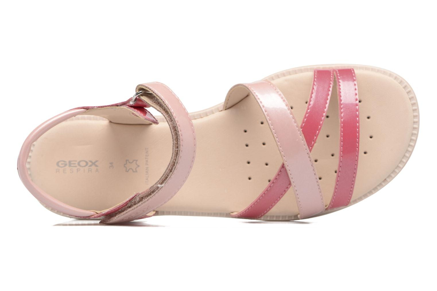 Sandals Geox J S.Karly G.J5235D Pink view from the left