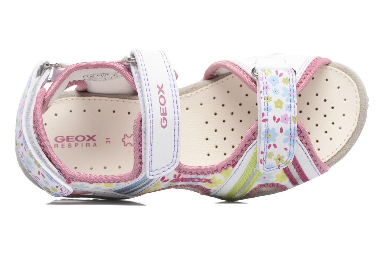 Sandales et nu-pieds Geox J S.Roxanne J52D9A Blanc vue gauche