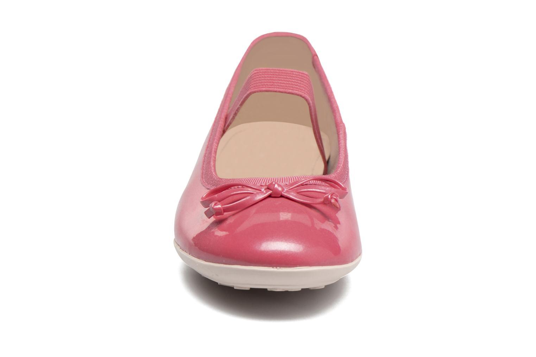 Ballerines Geox J Plie' I - J5455I Rose vue portées chaussures