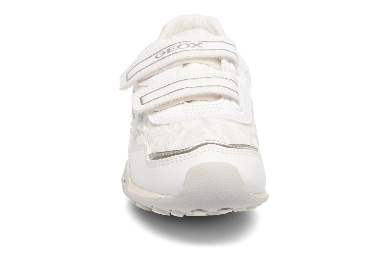 Baskets Geox J N.Jocker GJ72G2B Blanc vue portées chaussures