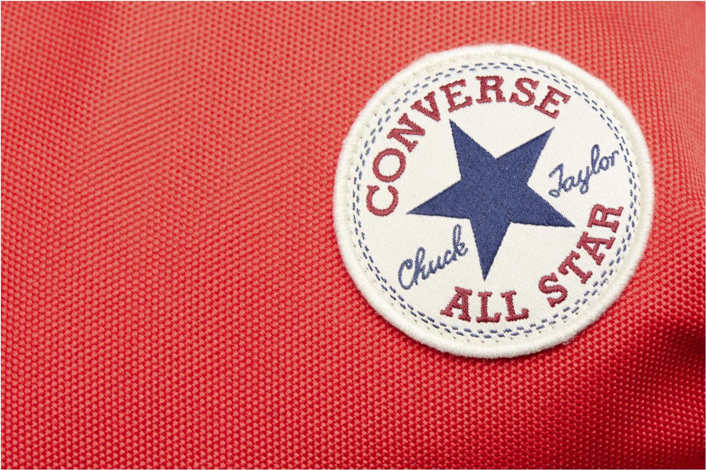 Sacs à dos Converse EDC poly Backpack M Rouge vue gauche