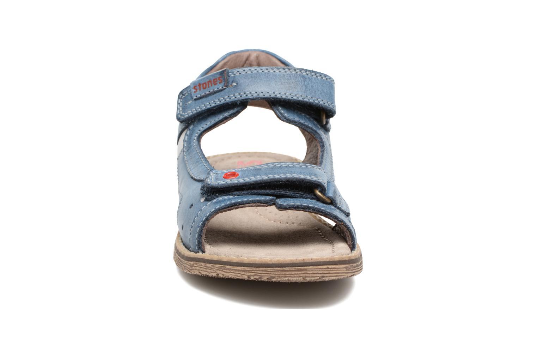 Sandales et nu-pieds Stones and Bones Desto Bleu vue portées chaussures