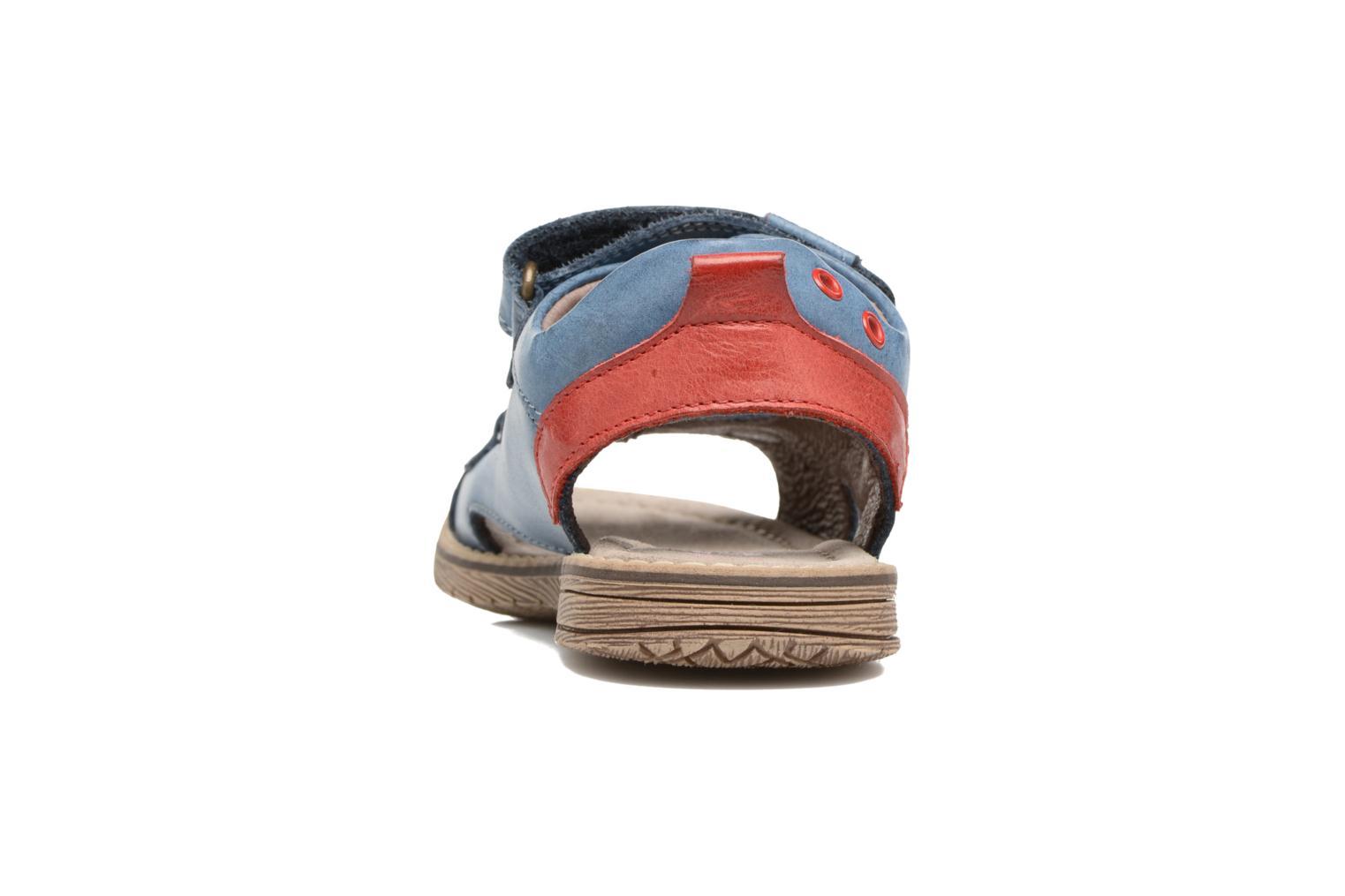 Sandales et nu-pieds Stones and Bones Desto Bleu vue droite