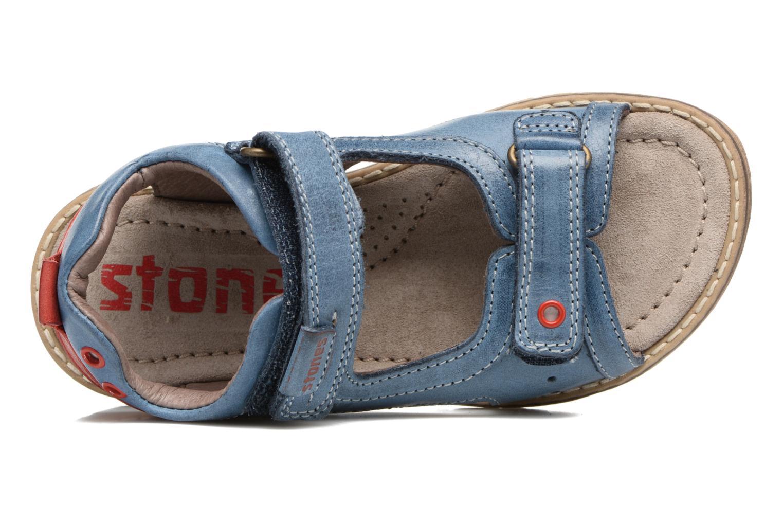 Sandales et nu-pieds Stones and Bones Desto Bleu vue gauche