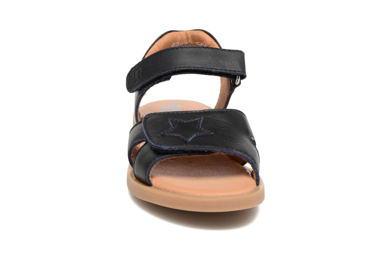 Sandali e scarpe aperte Richter Lena Azzurro modello indossato