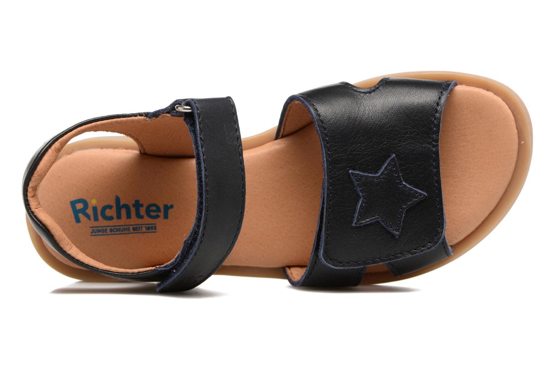 Sandali e scarpe aperte Richter Lena Azzurro immagine sinistra