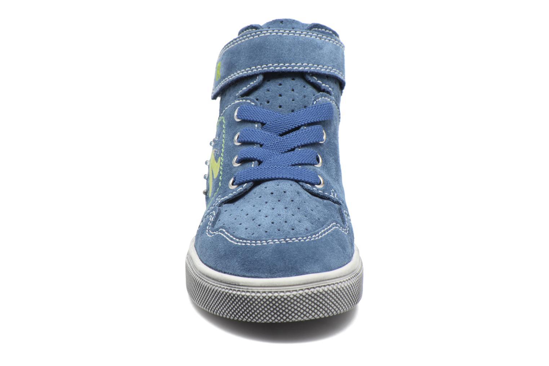 Baskets Richter Jake Bleu vue portées chaussures