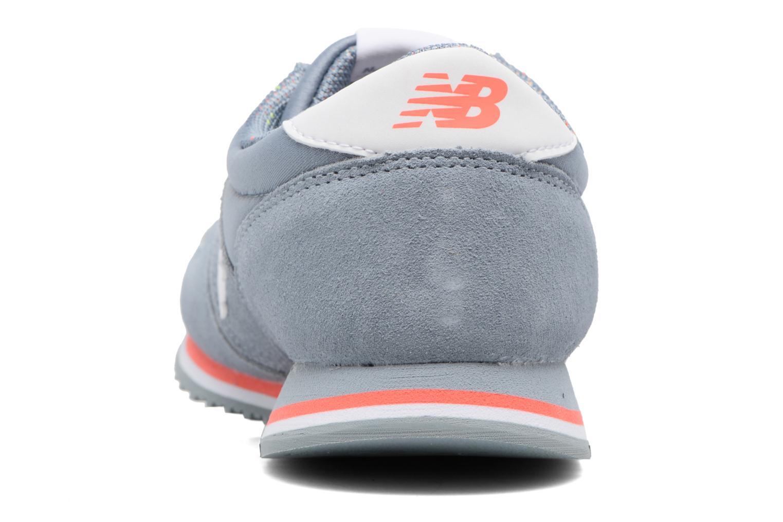 Sneaker New Balance WRL420 grau ansicht von rechts
