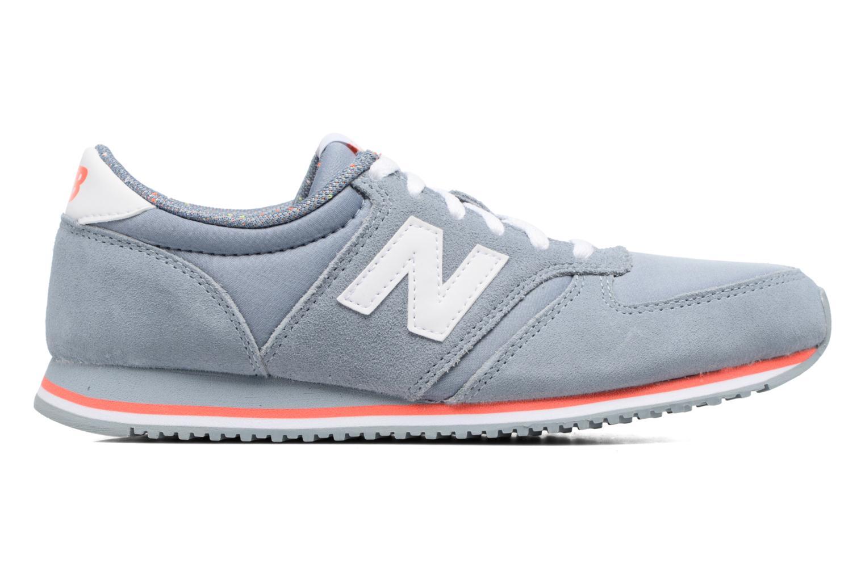 Sneaker New Balance WRL420 grau ansicht von hinten