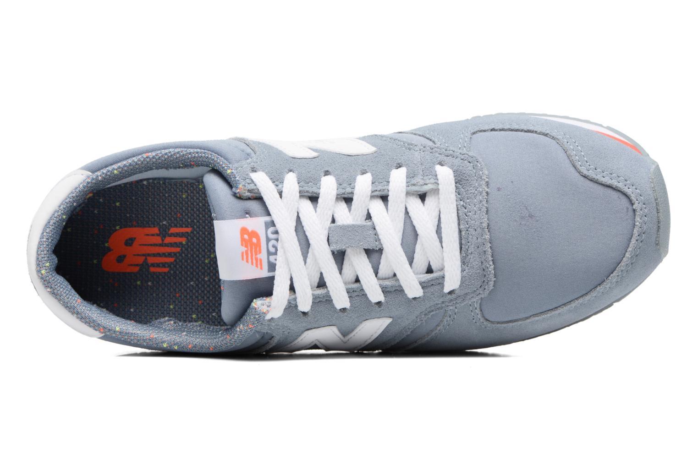 Sneaker New Balance WRL420 grau ansicht von links
