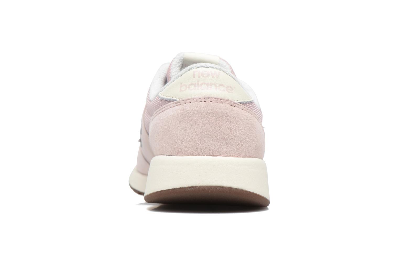 Sneakers New Balance WRL420 Pink Se fra højre
