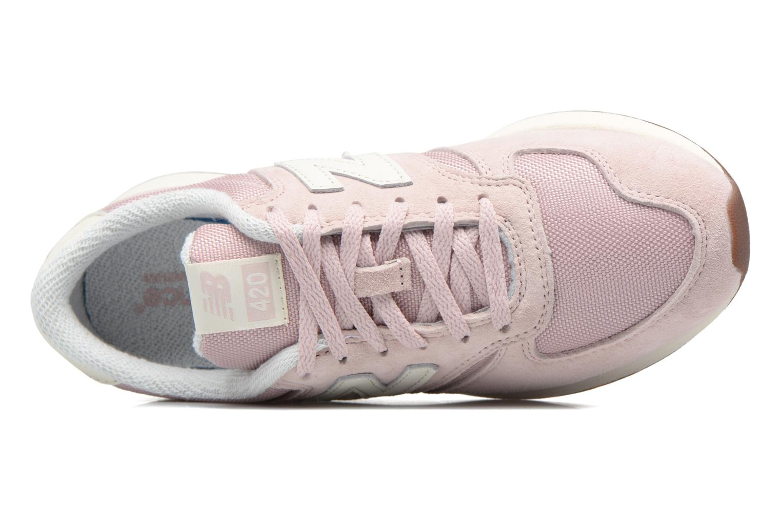 Baskets New Balance WRL420 Rose vue gauche