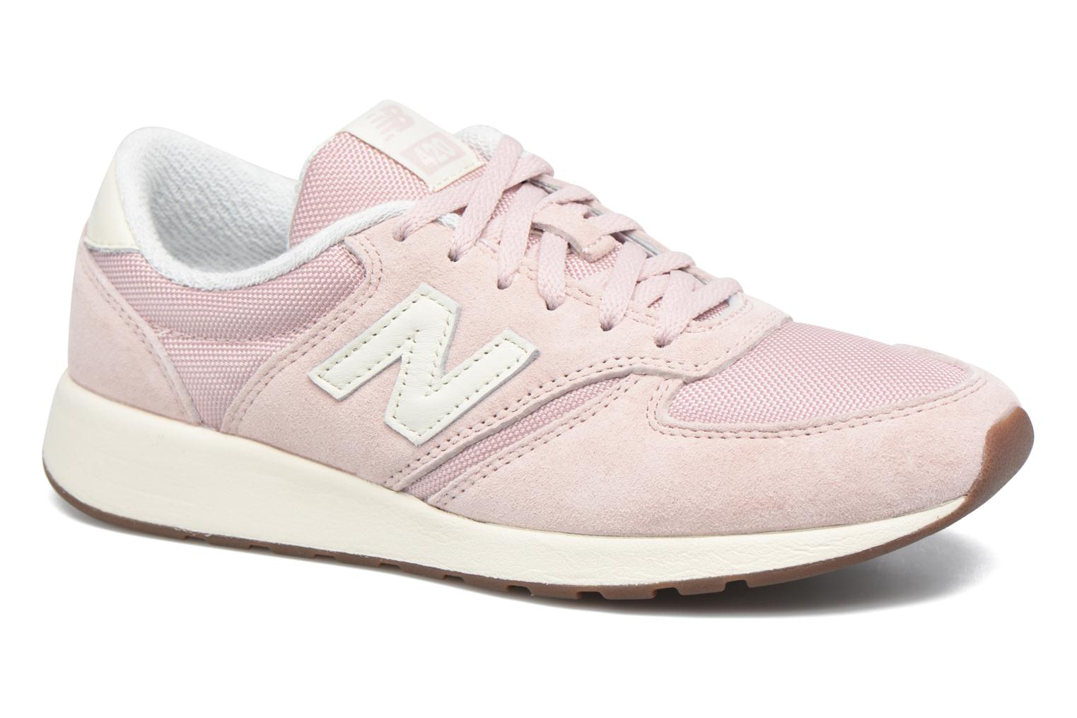 Baskets New Balance WRL420 Rose vue détail/paire