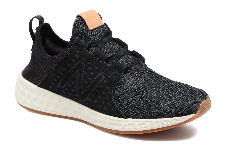 Chaussures de sport New Balance WCRUZ Noir vue détail/paire