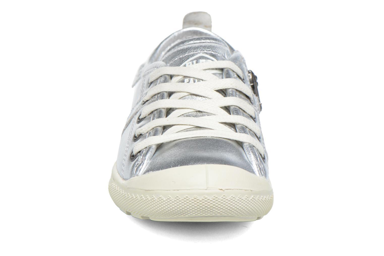 Baskets P-L-D-M By Palladium Lina Got Argent vue portées chaussures
