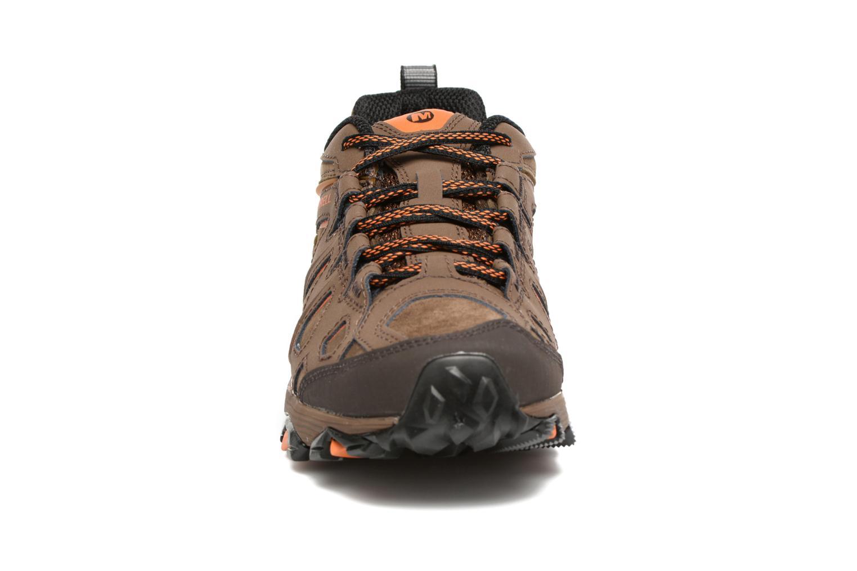 Chaussures de sport Merrell Moab FST LTR Gtx Marron vue portées chaussures