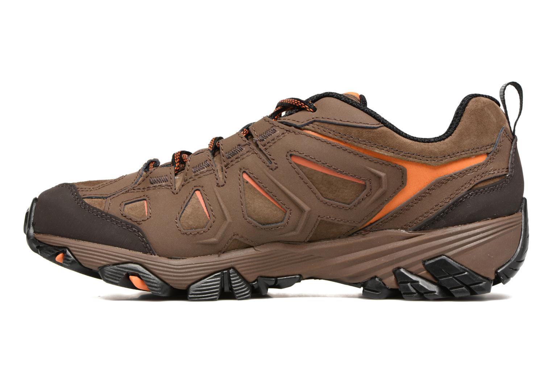 Chaussures de sport Merrell Moab FST LTR Gtx Marron vue face