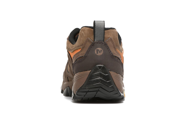 Chaussures de sport Merrell Moab FST LTR Gtx Marron vue droite