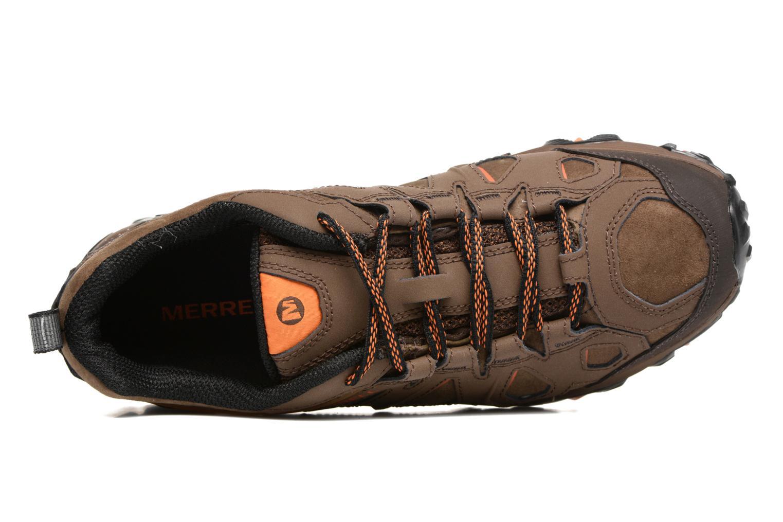 Chaussures de sport Merrell Moab FST LTR Gtx Marron vue gauche