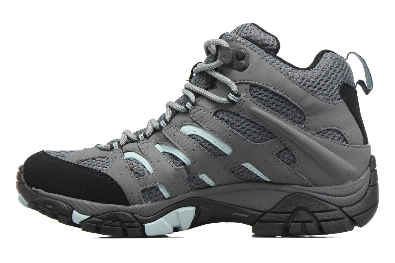 Chaussures de sport Merrell Moab Mid Gtx W Gris vue face