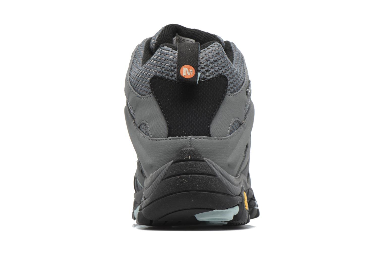 Chaussures de sport Merrell Moab Mid Gtx W Gris vue droite