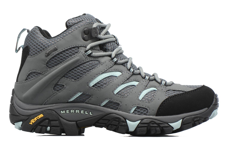 Chaussures de sport Merrell Moab Mid Gtx W Gris vue derrière