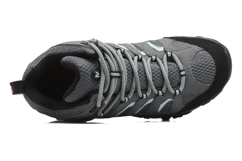 Chaussures de sport Merrell Moab Mid Gtx W Gris vue gauche