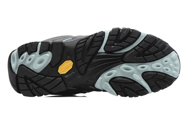 Chaussures de sport Merrell Moab Mid Gtx W Gris vue haut