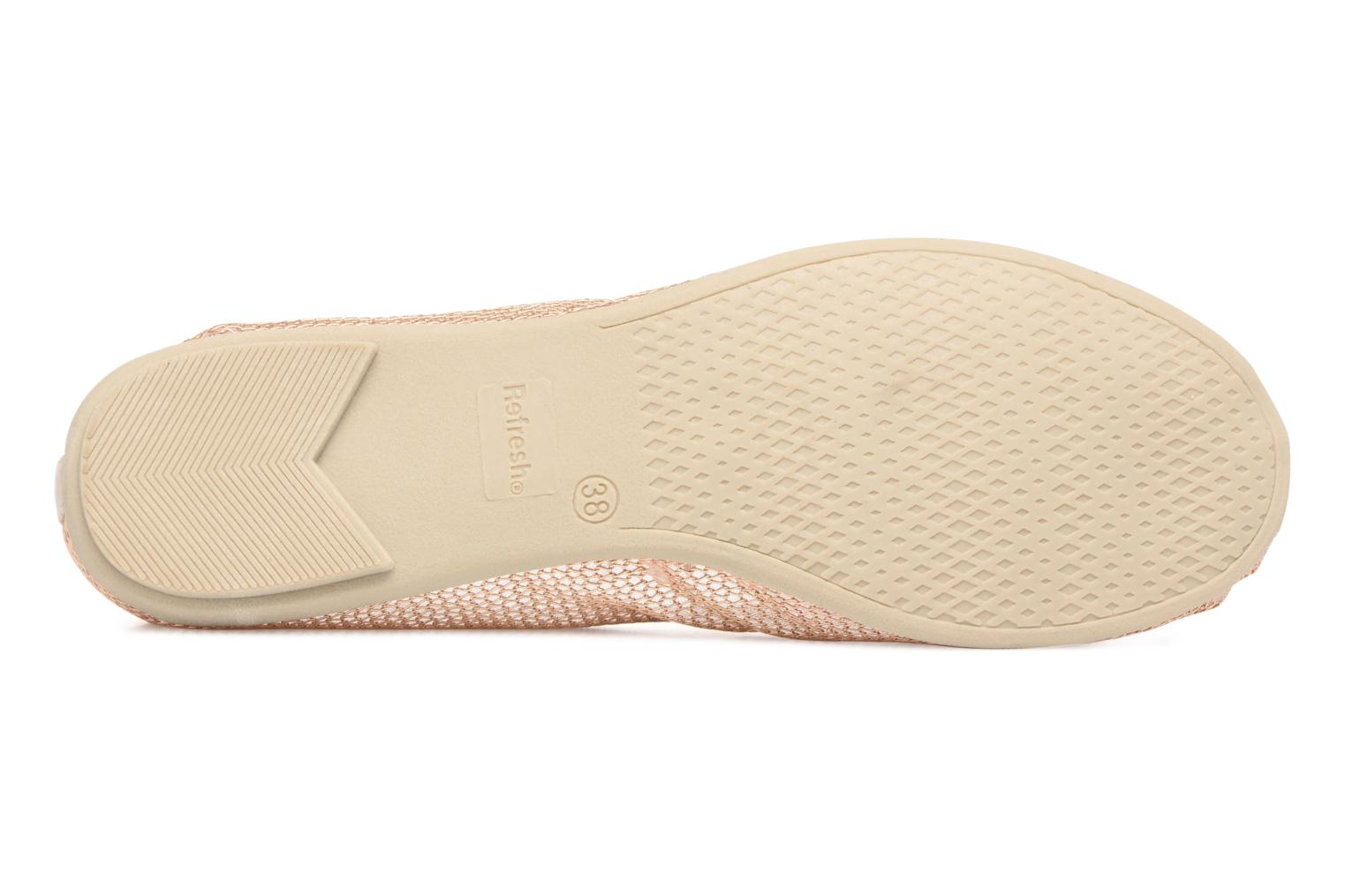 Ballerines Refresh Jala Rose vue haut