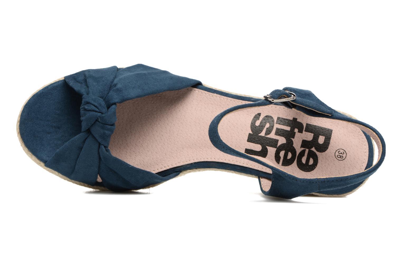 Sandaler Refresh Wizin Blå se fra venstre