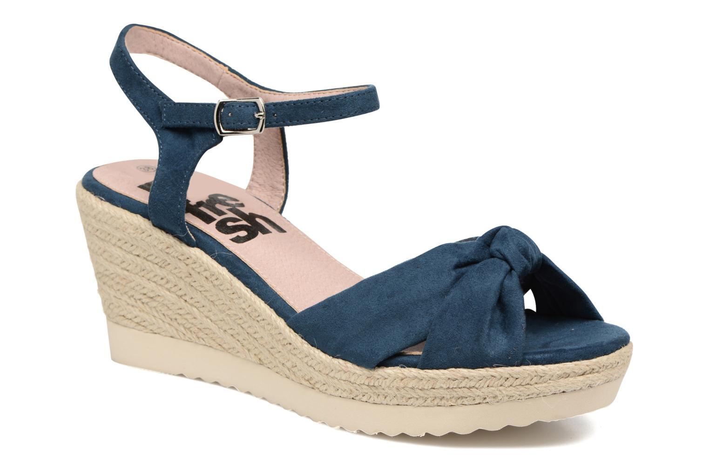 Sandaler Refresh Wizin Blå detaljeret billede af skoene
