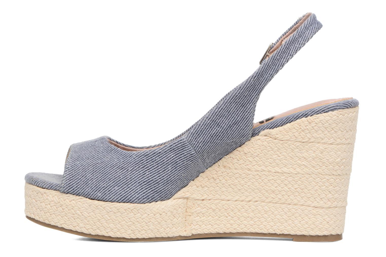 Sandalen Refresh Acma blau ansicht von vorne