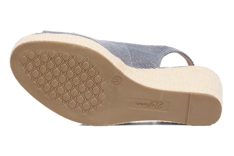 Sandalen Refresh Acma blau ansicht von oben