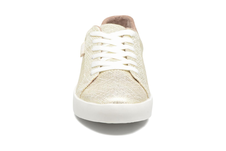Baskets Refresh Zol Or et bronze vue portées chaussures