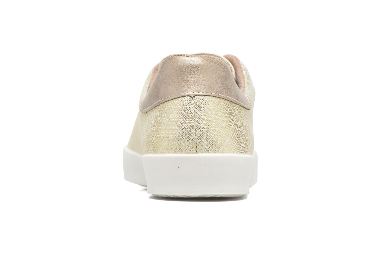Baskets Refresh Zol Or et bronze vue droite
