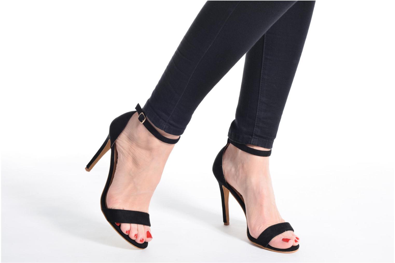 Sandalen Refresh Dedram beige ansicht von unten / tasche getragen