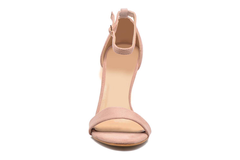 Sandalen Refresh Dedram beige schuhe getragen