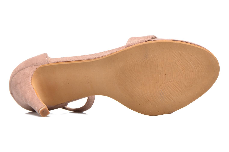 Sandales et nu-pieds Refresh Dedram Beige vue haut
