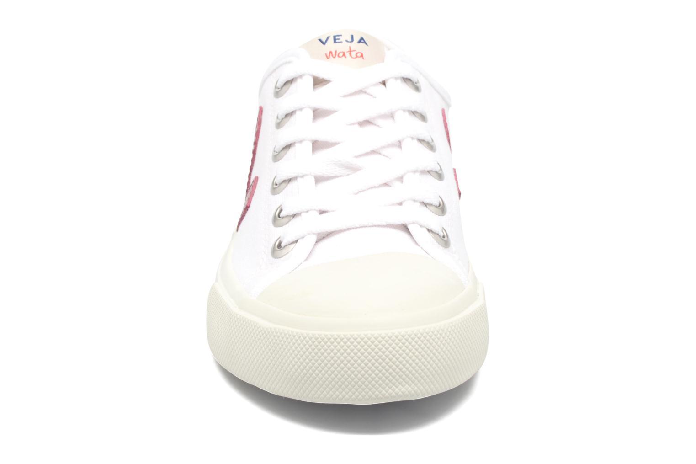 Baskets Veja Wata Blanc vue portées chaussures