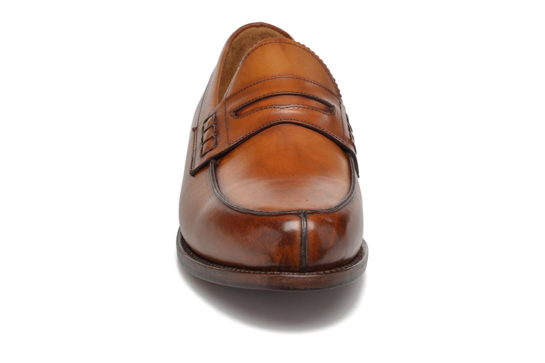 Slipper Marvin&Co Luxe Walsall braun schuhe getragen