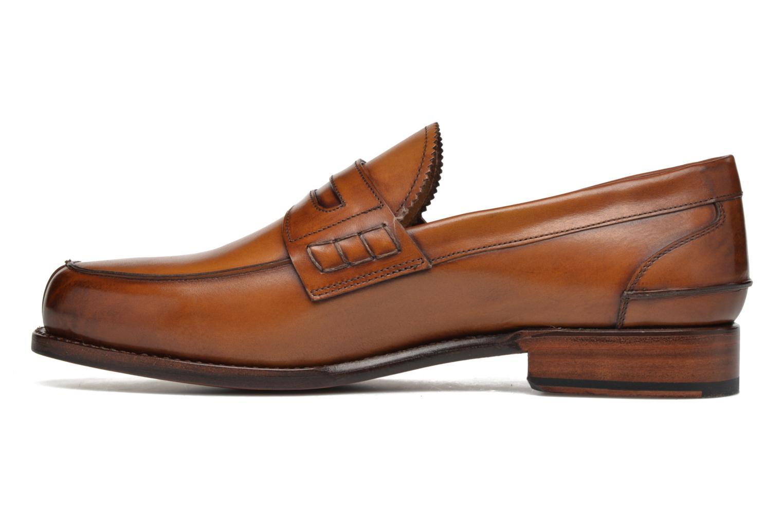 Slipper Marvin&Co Luxe Walsall braun ansicht von vorne